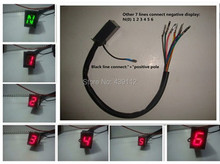 1 piece/lot Red Light LED Digital Gear Indicator