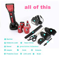 Kemei 8058 Man 5 in 1 Electric Beard Hair Trimmers Shaver Trimmer Rechargeable Nose hair trimmer