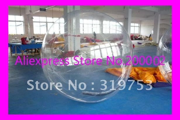 2m Water walking ball / Inflatable water roller / Zorb ball / Water ball  FREE blower  DHL Free shipping