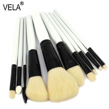 High Quality 10pcs Makeup Brushes Set Professional Makeup Tools Kit(China (Mainland))