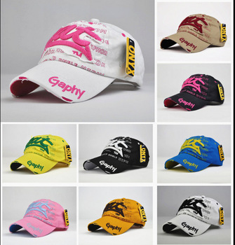 Free Shipping New Arrival 2015 Fashion Hot Sale Cotton Baseball Cap Viscose For Women Girls H1