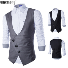 Outdoor Jacket Winter Brand Waistcoat Veste Homme Fashion Waistcoat Business Suit  Casual Vest British Style Men's Slim Vest