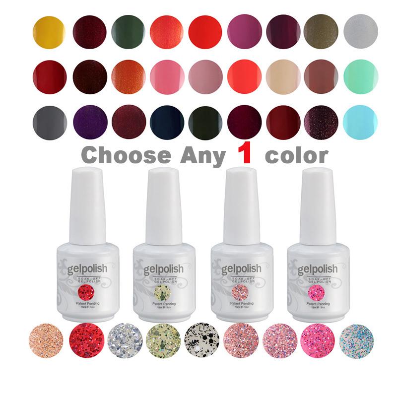 Gelpolish 15 ml Choose Any 1 Color From 302 Colors Nail Art Set Nail Gel Polish Nail Art Designs(China (Mainland))