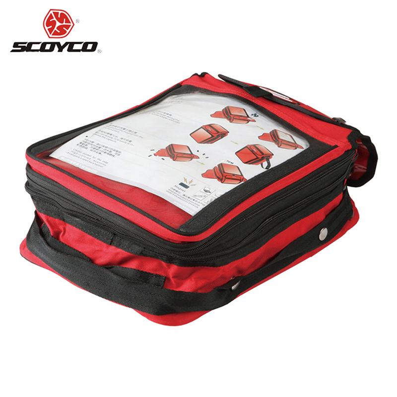 SCOYCO Motorcycle Oil Fuel Tank Bag Outdoor Sports Traveling Shoulder Bag Durability Luggage Magnetic Motorbike Saddle Map Bag(China (Mainland))