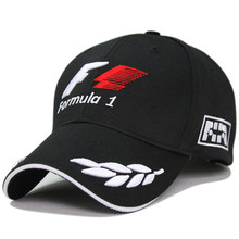 2015 New Black F1 Racing Team Hat Embroideried Letters Wheat F1 Formula One Team Golf Cap Baseball Cap Free Shipping(China (Mainland))