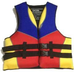 Brand New ! Neoprene protection life jacket for adult Foam flotage life vest(China (Mainland))