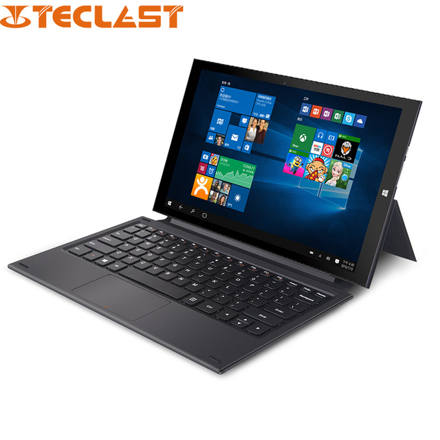 "11.6 "" Teclast X2 Pro Windows 10 планшет шт. Intel Core M 5Y10C 1920 * 1080 IPS 4 ГБ DDR3L 64 ГБ SSD 2.0MP + 5.0MP микро-HDMI Bluetooth"