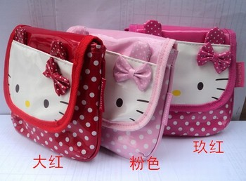Girls   Lovely    Messanger  Bags Kitty   Kids Bags    School  Bags