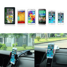 360 Degree Universal In Car Dashboard Cell Mobile Phone GPS Mount Holder Stand Cradle For iPhone 6s Samsung HTC for Sony HTC LG