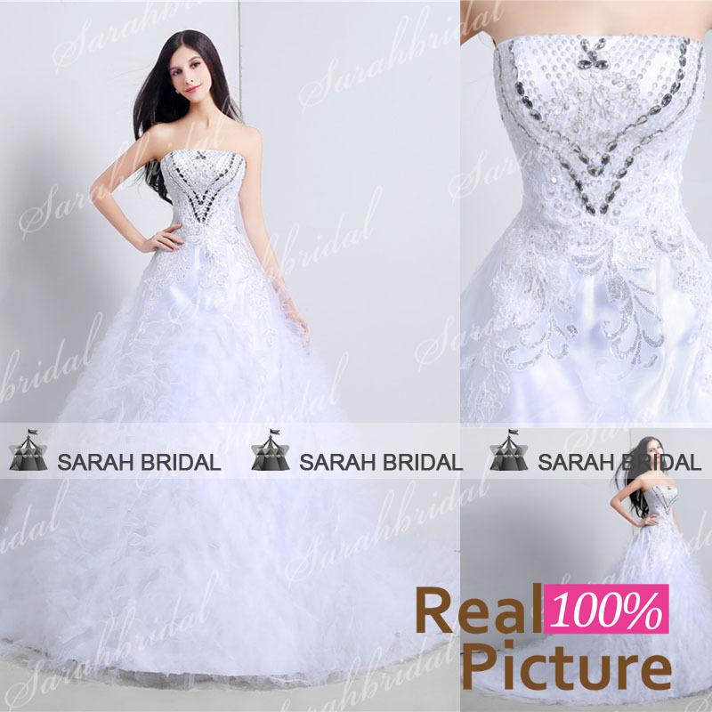 Свадебное платье Sarahbridal 2015 52122