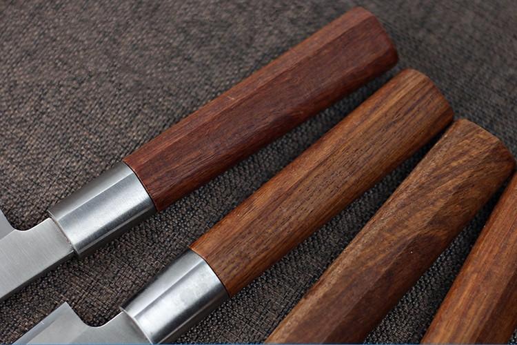 Buy Free Shipping LD High Quality Chef Professional Slicing Sashimi Sashayed Fish Knife Restaurant Sharp Cooking Cleaver Knife cheap