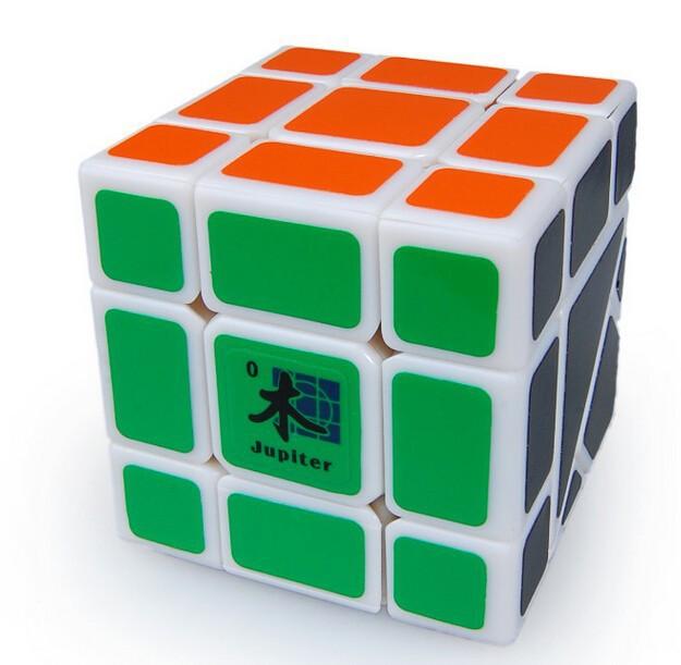 Dayan Bermuda Jupiter Plastic Triangle Magic Cube White Great Children Educational Jigsaw Puzzle Toy Professional cubo magico(China (Mainland))