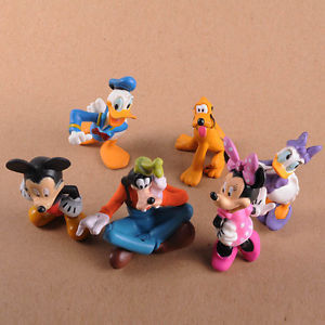 2015 cartoon 2015 2015 clubhouse anime figurine pvc figures classic toys 6 pcs/set gift for girls kids children(China (Mainland))