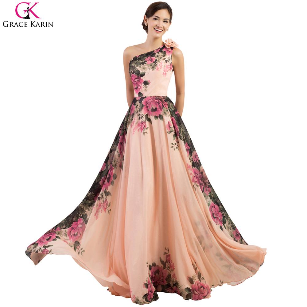 Print Bridesmaid Dresses