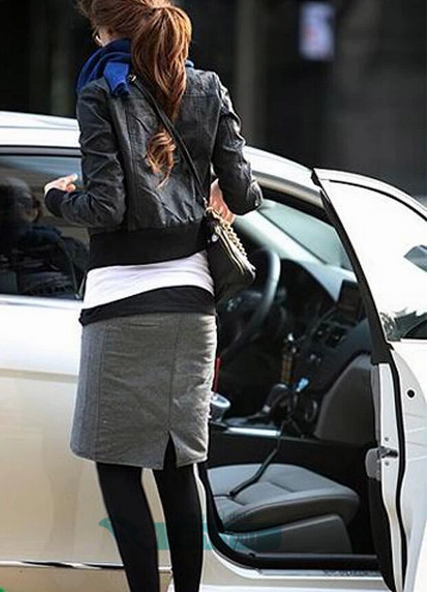 Женская одежда из кожи и замши FineYou Z406