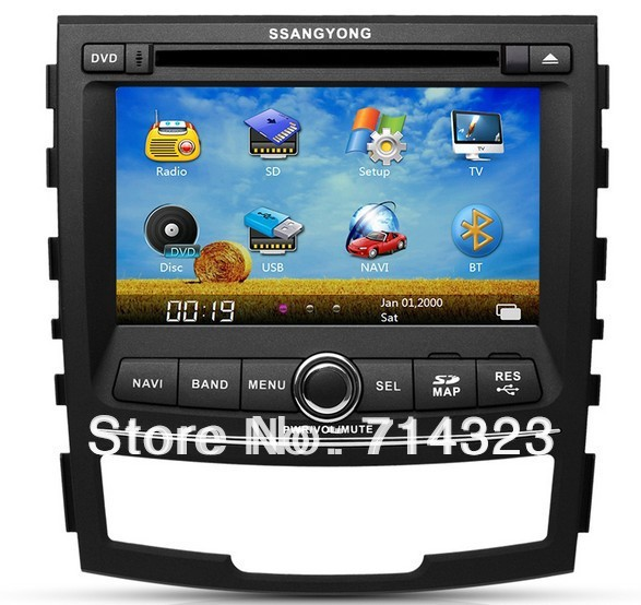 Hot Sales!! Car DVD Player for Ssangyong Korando/ New ...