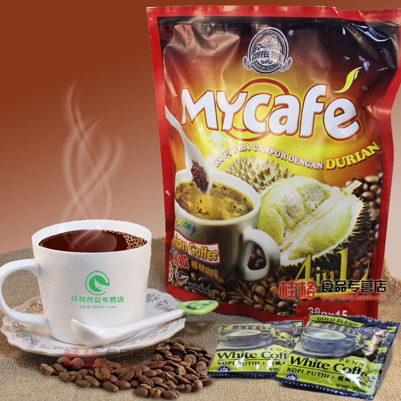 Durian coffee 570g instant white coffee