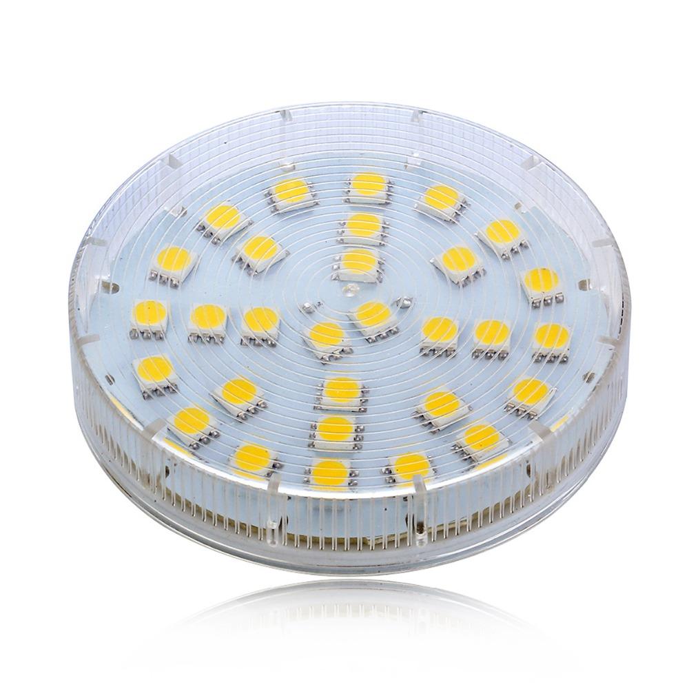 lampada GX53 7W led Cabinet Light bulb Lamp AC 220V 230V 240V High Brightness Bombillas(China (Mainland))