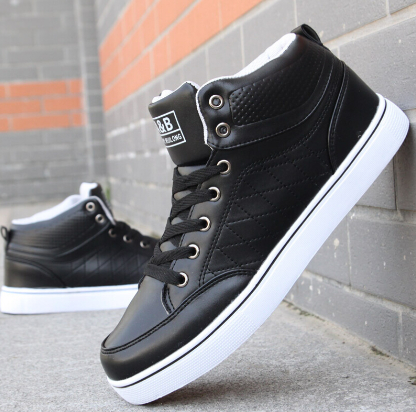 2016 brand shoes mens shoes fashion casual white black
