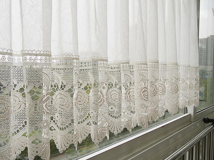 Short White Lace Curtains - Best Curtains 2017