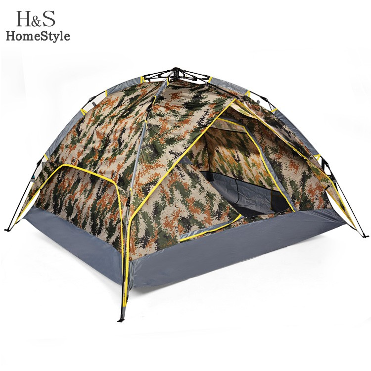 Outdoor Camping Tent Aluminium Pole Beach Shade Tent 3-4 Person(China (Mainland))