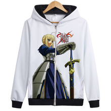 HOT!! Anime Fate Stay Night Red UBW Archer Emiya Cosplay Costumes Hoodies Jacket Hooded Sweatshirts Coat Casual Sport Wear Tops(China (Mainland))