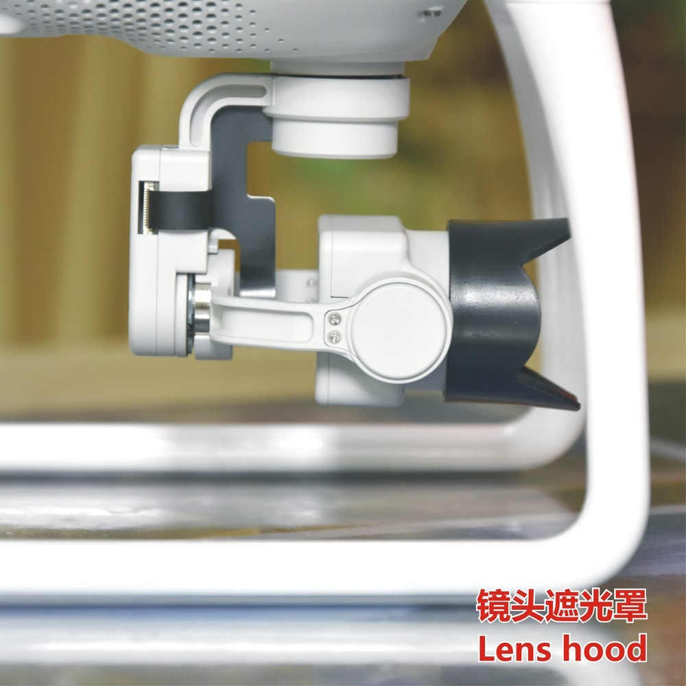 ZJM DJI Phantom 4 Camera Parts Lens Cap Sun Shade Sunshield 4K Camera cover Protective Cover