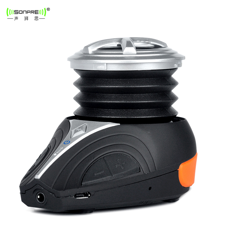 Original Sonpre R3BR Portable Bluetooth Bicycle Speaker, Bike Waterproof Compress Subwoofer for Smartphones/Laptops/iPods/MP3(China (Mainland))