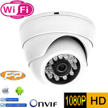 Buy 1080P IP Camera wifi 2MP HD Security Indoor CCTV P2P Surveillance Cam ONVIF H.264 IR Cut Night Vision Network Dome Camara for $38.34 in AliExpress store