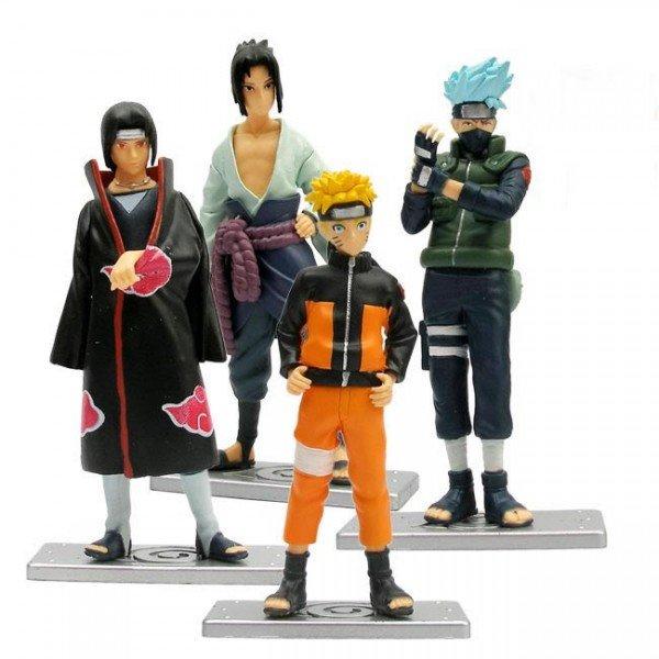 New 4pcs Janpanese Anime Naruto Figure Toy Figurine 17(China (Mainland))