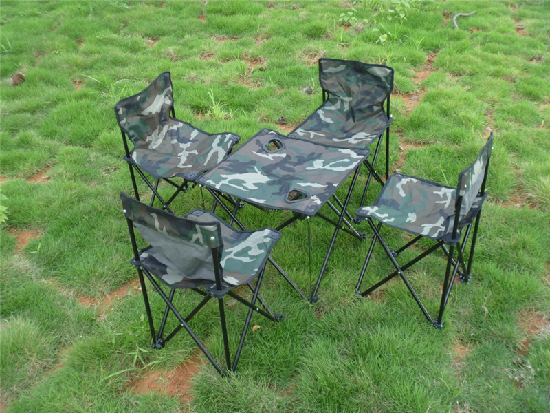 Wholesale Portable Camouflage Outdoor Camping Picnic Fishing Garden - Buy table and chairs wholesale
