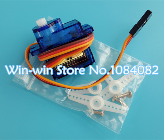 10pcs/lot Tower Pro 9g micro servo for airplane aeroplane 6CH rc helcopter kds esky align helicopter sg90(China (Mainland))