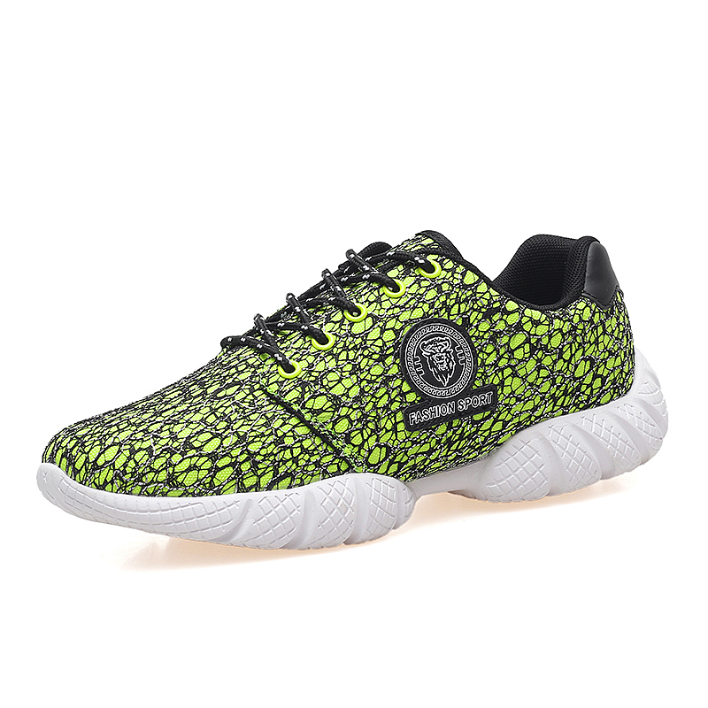2016 new design breathable mesh casual Shoes men,fashion quality white thick soled laceup male shoes green blue black(China (Mainland))