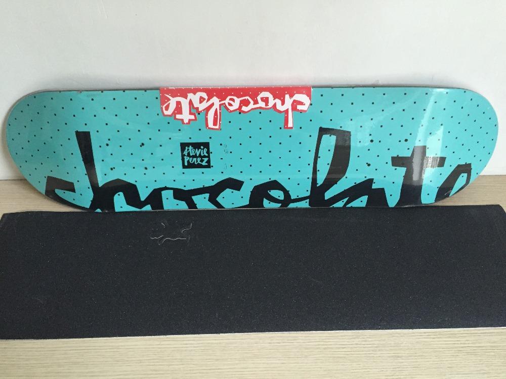 "2016 Professional Chocolate FLOATER CHUNK SERIES Skateboard Shapes Skate 31.625""X8.125"" Maple Street Deck Skate(China (Mainland))"