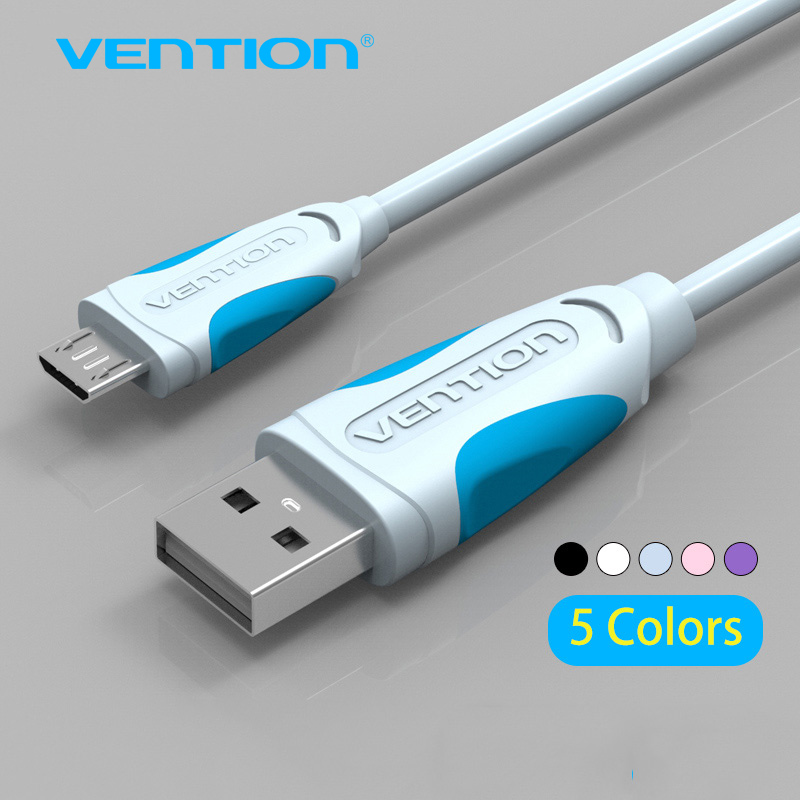 Vention Micro USB Cable Fast Charging line for Android Mobile Phone Data Sync Charger Cable For Samsung HTC LG Sony(China (Mainland))