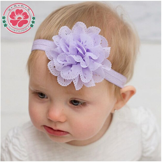 Bailey Blossoms have collections of hair bands for Babies. He have broad range of flower hair bands, head wraps for babies available online at affordable cost.