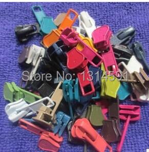 100шт смола цвет застежки-молнии пластмассовые зубы дольше автоматическая Блокировка слайдера DIY аксессуары для детей и взрослых одежда, обувь