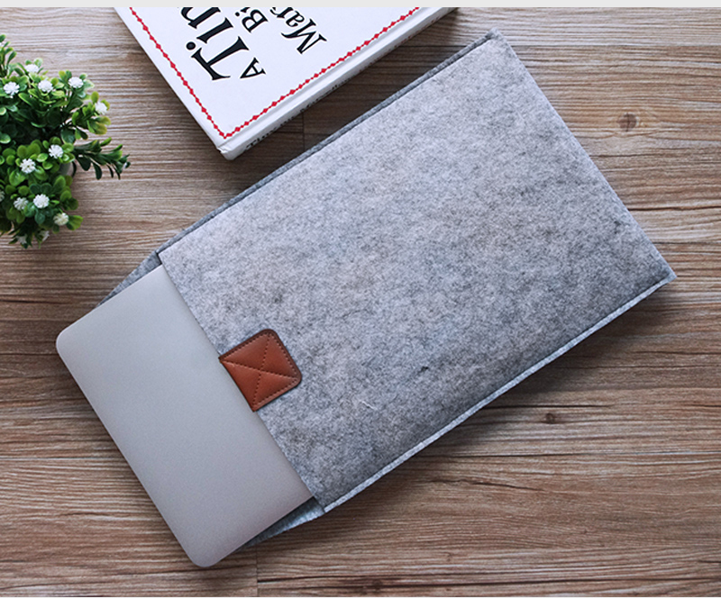 """Felt PC Notebook Case 13.3"""" 11.6 15.4 Laptop Envelope Cover Pouch Sleeve For Macbook air Pro(China (Mainland))"""