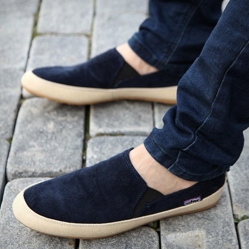 Nova primavera verão inglaterra moda masculina sapatos ...