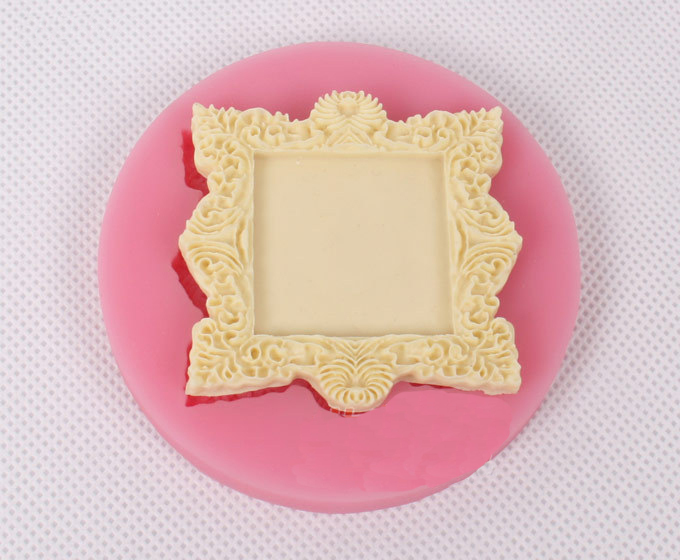 wholesale new small picture frame sugar cake mold 10 pieceslotchina