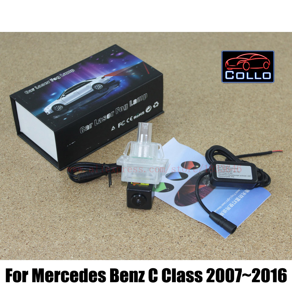 Special Laser Fog Lamp / For Mercedes Benz C 180 200 220 250 280 300 350 400 450 63 AMG / Car Rear Tail Collision-Warning Lights(China (Mainland))