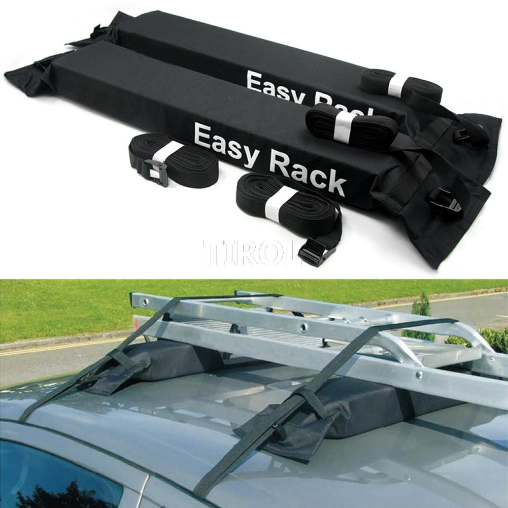 Tirol T15414b Universal Auto Soft Car Roof Rack 2 Pieces/Set Carrier Luggage Good Quality Load 60kg Baggage Rack(China (Mainland))