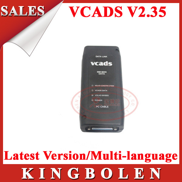 Оборудование для диагностики авто и мото 2015 Volvo Vcads v2.35
