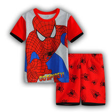 Summer kids clothes sets boy t-shirt+pants suit clothing set Clothes newborn sport suits baby boy clothes children girls clothes(China (Mainland))