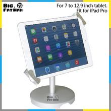 Metal Tablet stand 7 inch tablet lock stand / 8″ tablet desktop mount / 10″ universal tablet table security holder for ipad sam