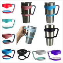 Universal Standard Multicolor 30oz Yeti Cup Holders Stainless Steel Insulated Tumbler Mug Handle Drop Free Shipping(China (Mainland))