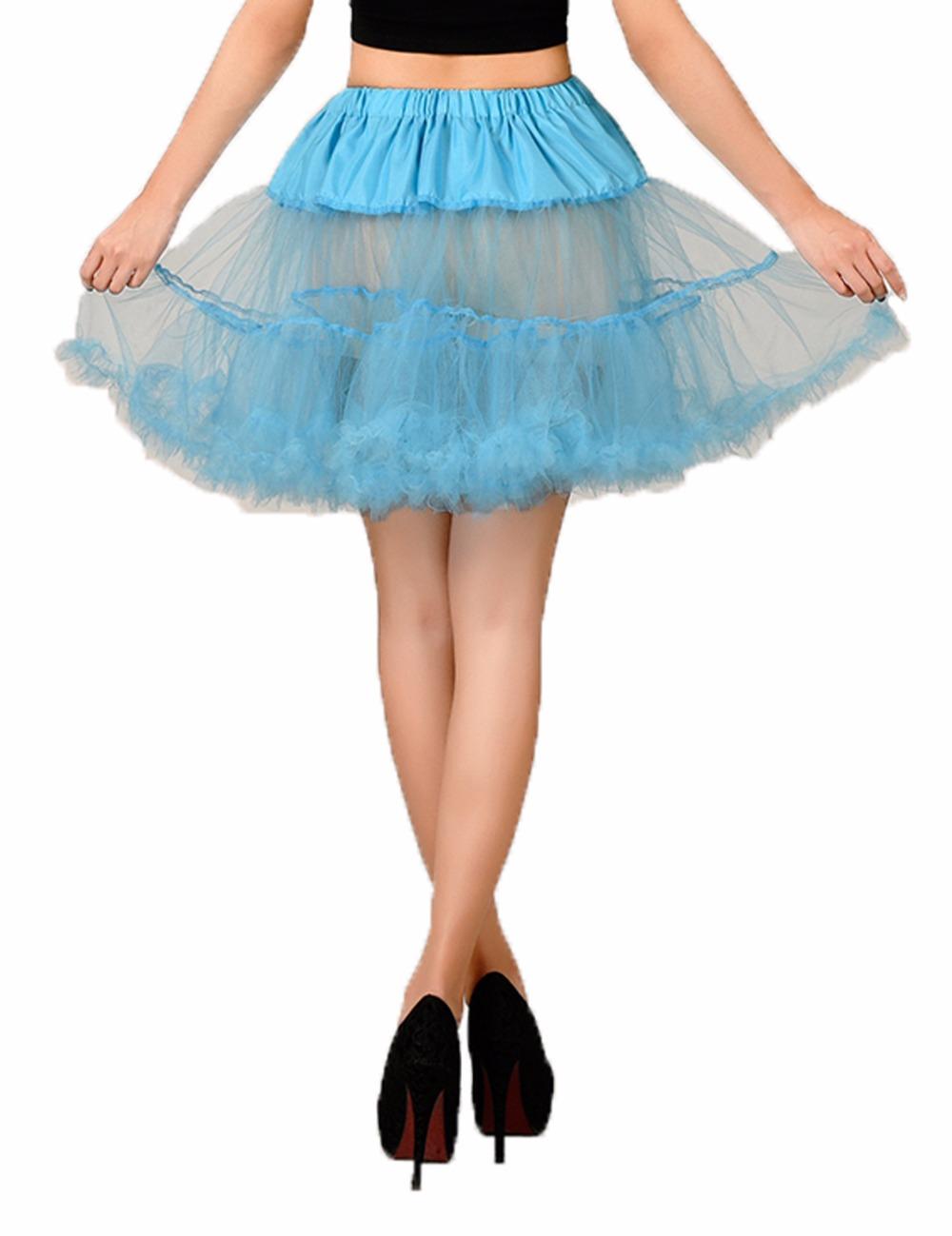 sexy free short halloween petticoat crinoline vintage wedding bridal petticoat for wedding dresses underskirt rockabilly tutu - Halloween Petticoat