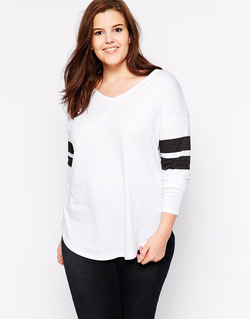 Plus size 5xl 6xl women t shirts white tshirt three for Women s broadcloth shirts