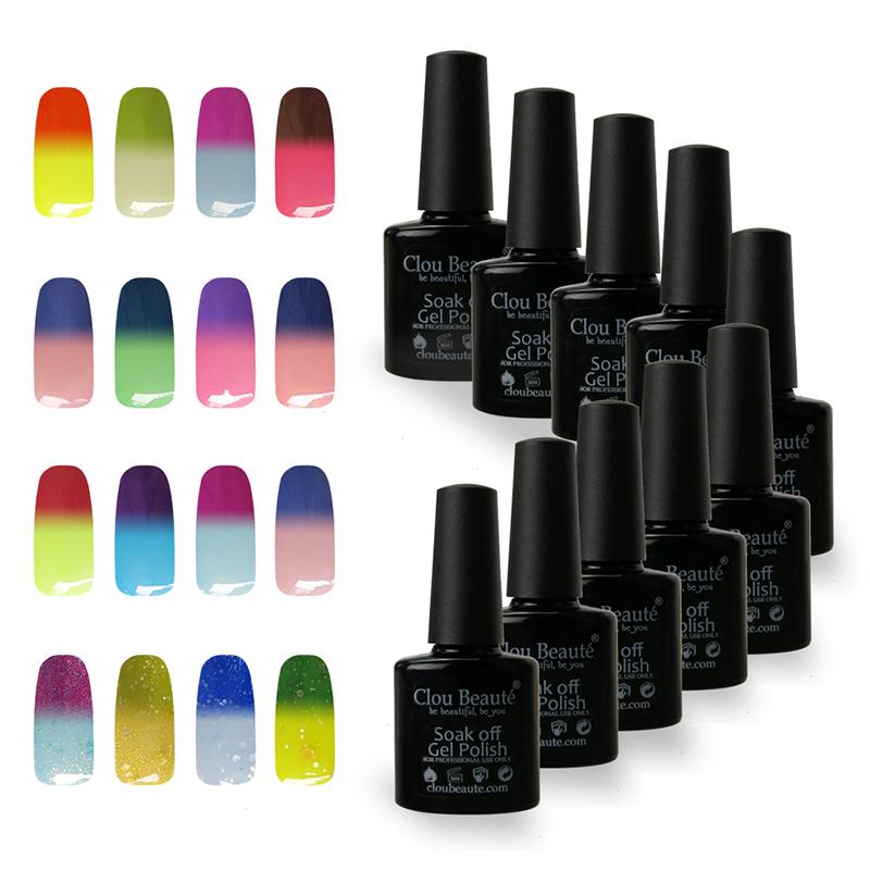 Special Price 48 Colors 10ml CB Choose Any 1 Color Nail Salon Gel UV Colors Temperatures Nail Polish UV Nail Lamp(China (Mainland))
