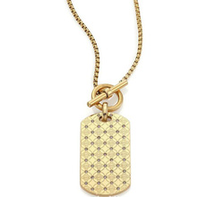 2015 Famous Brand Link Chains Necklaces For Women New Arrival Setting Crystal Gold Alloy Letter Kors Sweater Necklaces Jewelry(China (Mainland))